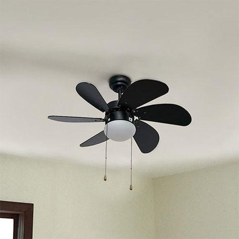Eurolux Turbo Swirl 30 Ceiling Fan With Light
