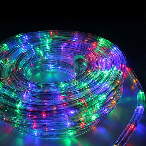 Eurolux 10M LED Multicoloured Rope Light With 8 Function Controller