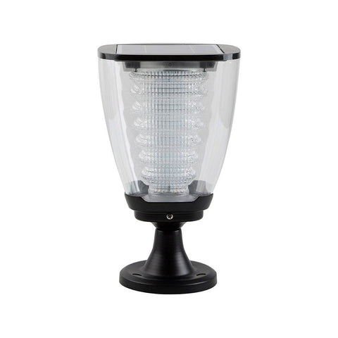 Cup Design LED Solar Post Light