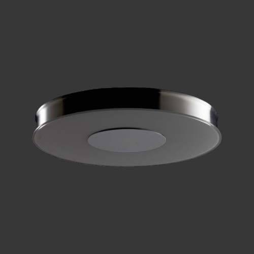 Large Round Fluorescent Ceiling Light