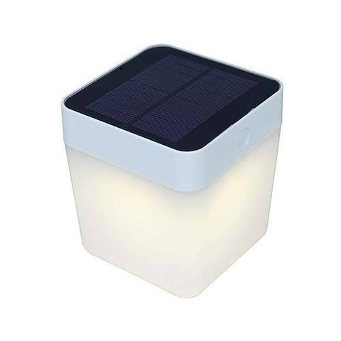 Lutec Table Cube LED Solar Light 1W