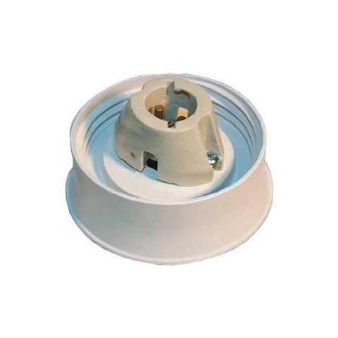 Matelec Regular Fibreglass Gallery 150mm With B22 Lamp Holder
