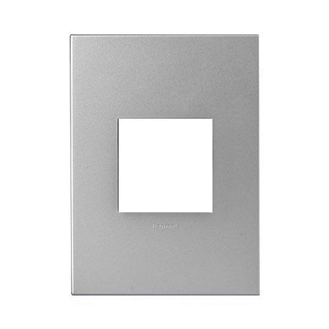 Legrand Arteor Cover Plate 2 Modules - Soft Aluminium