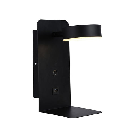 140mm LED Wall Light with USB