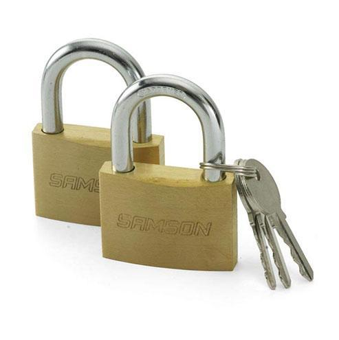 Samson Brass Padlocks - Keyed Alike 32mm