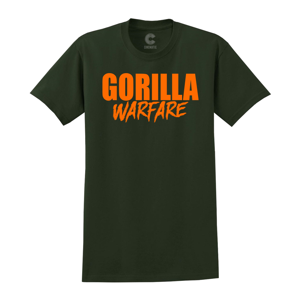 GORILLA WARFARE GREEN TEE