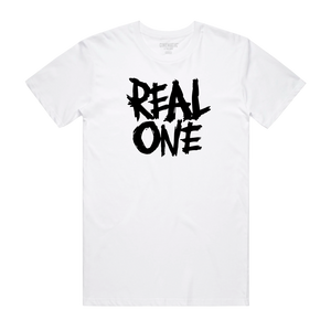 REAL ONE WHITE TEE