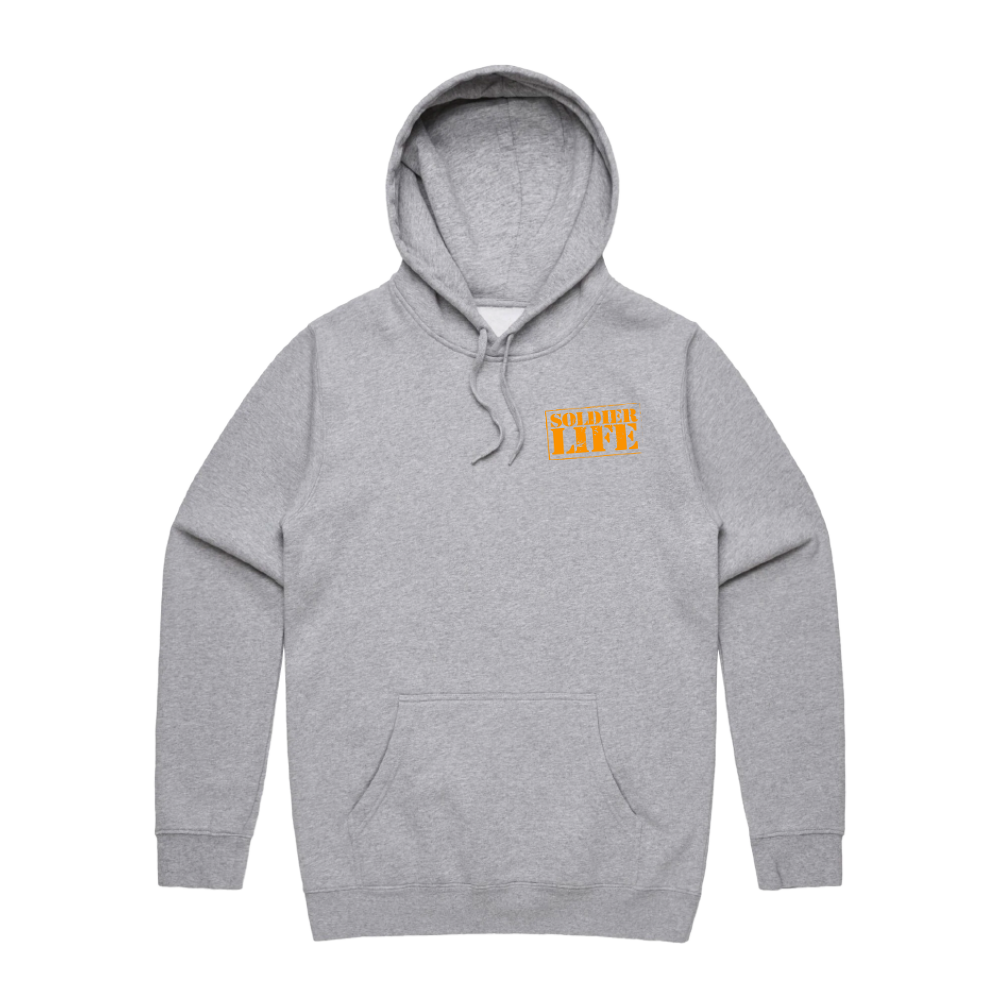 SOLDIER LIFE HEATHER HOODIE