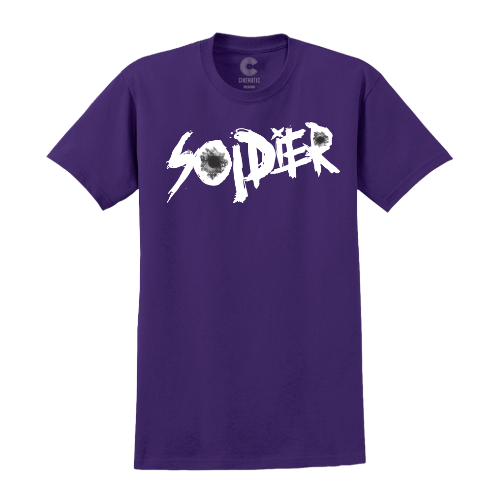 Shots Purple Tee