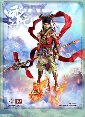 (303TOYS X OUZHIXIANG) (Pre-Order) GF004 1/6 CHINESE LEGENDS SERIES - NEZHA THE THIRD PRINCE (STANDARD VERSION) - Deposit Only