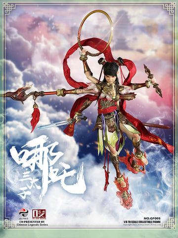 (303TOYS X OUZHIXIANG) (Pre-Order) GF005 1/6 CHINESE LEGENDS SERIES - NEZHA THE THIRD PRINCE (EXCLUSIVE VERSION) - Deposit Only