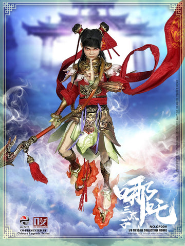 Image of (303TOYS X OUZHIXIANG) (Pre-Order) GF004 1/6 CHINESE LEGENDS SERIES - NEZHA THE THIRD PRINCE (STANDARD VERSION) - Deposit Only