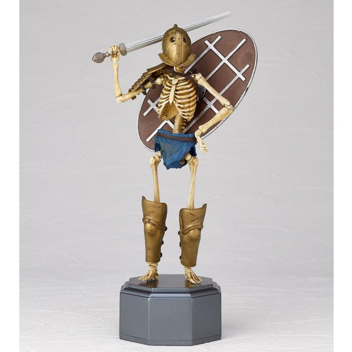 (Kaiyodo) (Pre-Order) KT Project KT-031 Takeya Style Jizai Okimono Gladiator Secutor Full Color Edition - Deposit Only