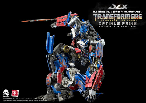 Image of (ThreeZero) (Pre-Order) Transformers: Revenge of the Fallen – DLX Optimus Prime - Deposit Onnly