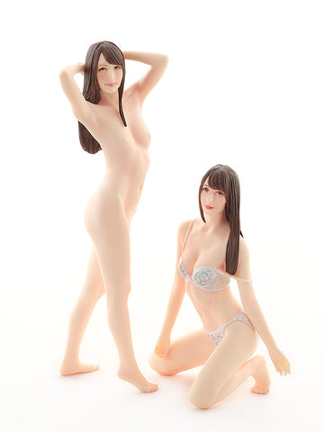 Image of (Good Smile Company) (Pre-Order) PLAMAX Naked Angel 1/20: Jessica Kizaki(Re-run) - Deposit Only
