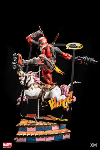 Image of (XM Studios) (Pre-Order) Deadpool Ver. B 1/4 Scale Premium Collectible Statue