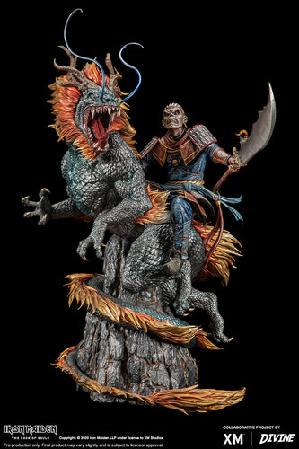 (XM Studios) (Pre-Order) Eddie X The Chinese Dragon 2016 The Book Of Souls World Tour 1/4 Scale Statue - Deposit Only