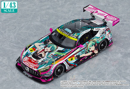 (Good Smile Company) (Pre - Order) 1/43rd Scale Good Smile Hatsune Miku AMG 2020 SUPER GT Okayama Test Ver. - Deposit Only