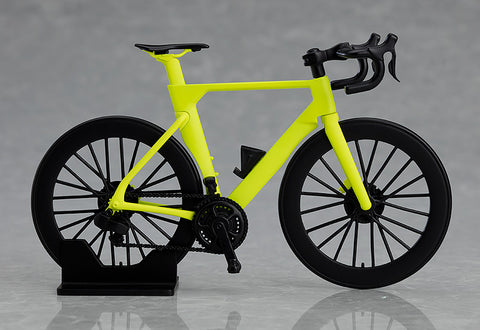 Image of (GOOD SMILE COMPANY) (PRE-ORDER) figma+PLAMAX Road Bike (Lime Green) - DEPOSIT ONLY