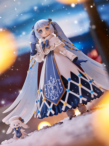 Image of (Max Factory) (Pre-Order) figma Snow Miku: Glowing Snow ver. - Deposit Only