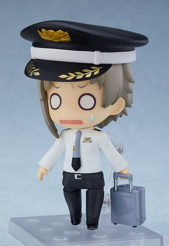Image of (GOOD SMILE COMPANY) (PRE-ORDER) Nendoroid Atsushi Nakajima: Airport Ver. - DEPOSIT ONLY