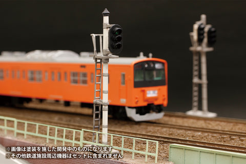 Image of (Good Smile Company) (Pre-Order) 1/80 Plastic kit Railway Signal Set - Deposit Only
