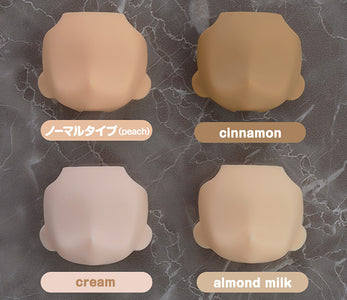 (Good Smile Company) (Pre-Order) Nendoroid Doll: Customizable Head (Almond Milk)(Re-run) - Deposit Only