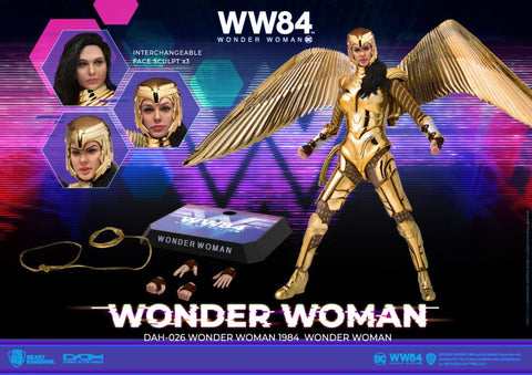 Image of (Beast Kingdom) (Pre-Order) DAH-026 Wonder Woman 1984 Wonder Woman Golden Armor - Deposit Only