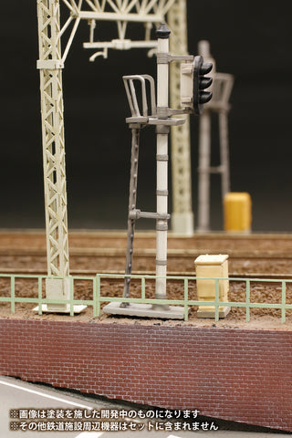 (Good Smile Company) (Pre-Order) 1/80 Plastic kit Railway Signal Set - Deposit Only