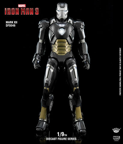 (King Arts) (Pre-Order) Iron Man Mark 12 - 1/9 Scale Diecast Figure DFS046 - Deposit Only