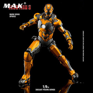 (King Arts) Iron Man Mark 28 - 1/9 Scale Diecast Figure DFS052