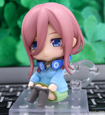 Image of (Good Smile Company) (Pre-Order) Nendoroid Miku Nakano The Quintessential Quintuplets - Deposit Only