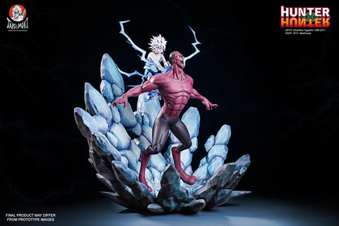 "Image of (Tatsumaki Studio) (Pre-Order) HUNTER X HUNTER Killua X Youpi ""A Shocking Despair"" 1/6 Scale Statue - Deposit Only"