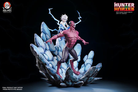 "(Tatsumaki Studio) (Pre-Order) HUNTER X HUNTER Killua X Youpi ""A Shocking Despair"" 1/6 Scale Statue - Deposit Only"