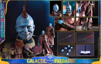 (PRESENT TOYS) (Pre-Order) New Product: 1:6 collectible toy – GALACTIC PREDATOR - Deposit Only