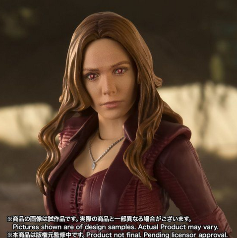 Image of (S.H.Figuarts)(Pre-Order) Scarlet Witch (Avengers: Endgame) - Deposit Only