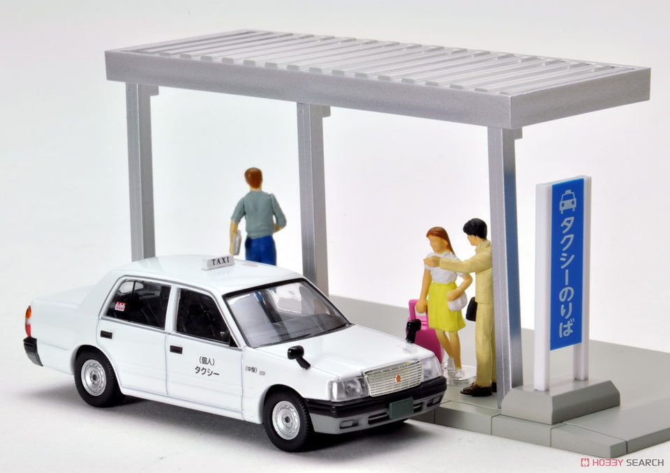 (Tomytec) (Pre-Order) Diocolle 64 #Car Snap 04a Taxi Stop - Deposit Only