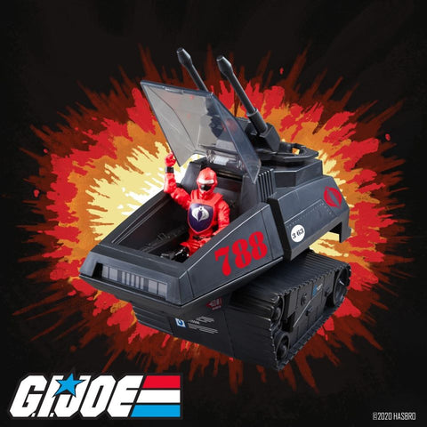 Image of (Hasbro) (Pre-Order) GIJ RETRO VEHICLE COBRA H.I.S.S. - Deposit Only