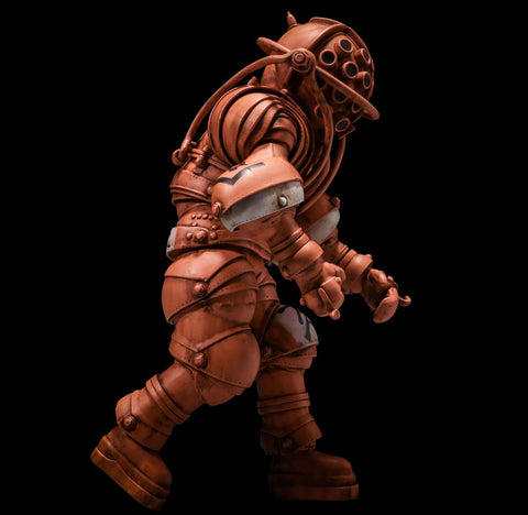 (Sentinel) (Pre-Order) Takeya-Shiki Jizai-Okimono Vintage Diving Suits Collection No.01TA Takeya Color Ver. - Deposit Only