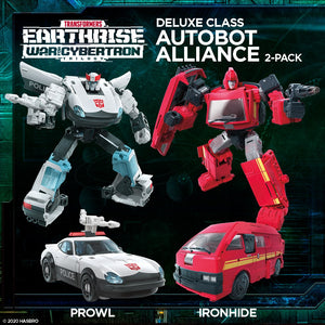(Hasbro) (Pre-Order) TRANSFORMERS Earthrise Autobot Alliance EARTHMODE 2 PACK - Deposit Only