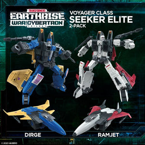 (Hasbro) (Pre-Order) TRANSFORMERS Earthrise Seeker Elite EARTHRISE 2-PACK - Deposit Only