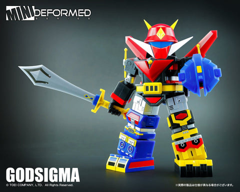 (Action toys) (Pre-Order)Mini Action Godsigma-Deposit-Only