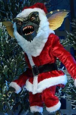 "Image of (Neca) Gremlins 7"" Scale Action Figure Santa Stripe & Gizmo"