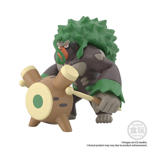 Image of (Premium Bandai) (Pre-Order) POKEMON SCALE WORLD GALAR RILLABOOM W / O GUM - Deposit Only