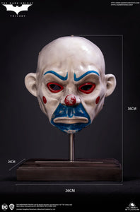 (Queen Studios) (Pre-Order) Joker-Clown Mask Life size - Deposit Only