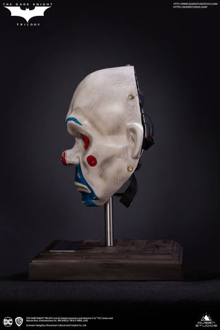 Image of (Queen Studios) (Pre-Order) Joker-Clown Mask Life size - Deposit Only