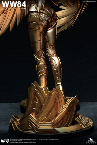(Queen Studios) (Pre-Order) Wonder Woman Golden Eagle Armor 1/4 Scale Statue Standard or Premium Edition - Deposit Only