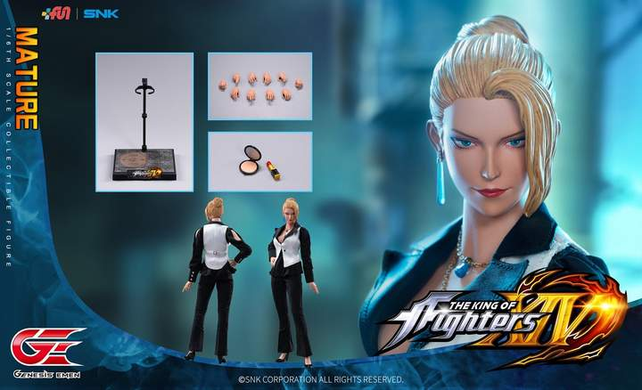 (Genesis Emen) (Pre-Order) KOF-MT01 14 1/6 The King of Fighters(XIV) - Deposit Only