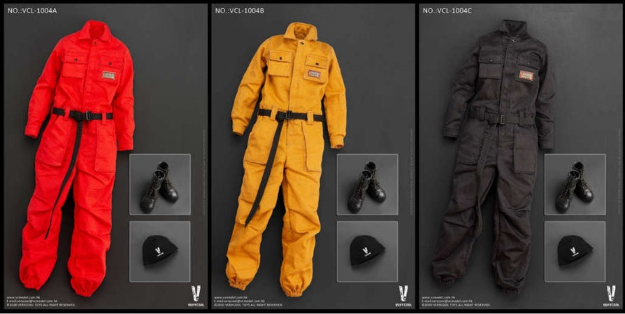 (VERYCOOL) (Pre-Order) 1/6 Work-Wear Set VCL-1004A/B /C - Deposit Only