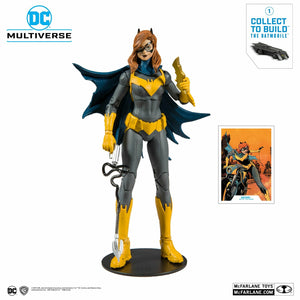 (Mc Farlane) (Pre-Order) DC Collector Wave 1 Batgirl Art of the Crime 7-Inch Action Figure - Deposit